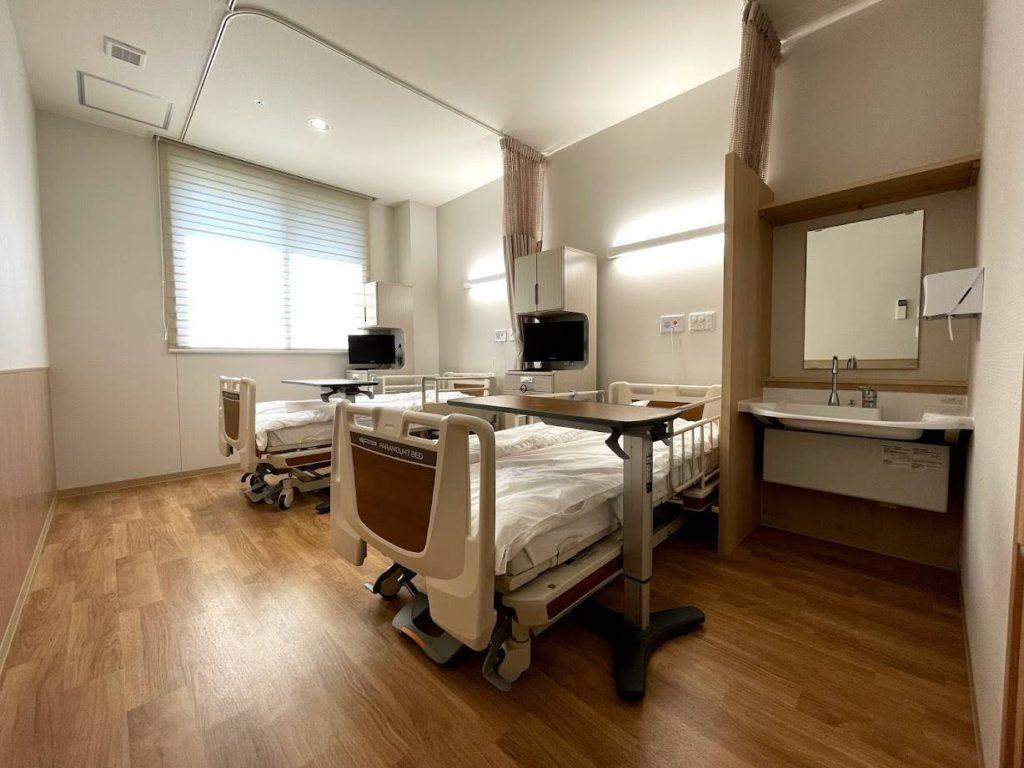 たかはし泌尿器科-入院-2人部屋
